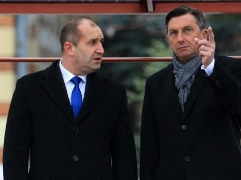 Продължава визитата на президента Румен Радев в Република Словения