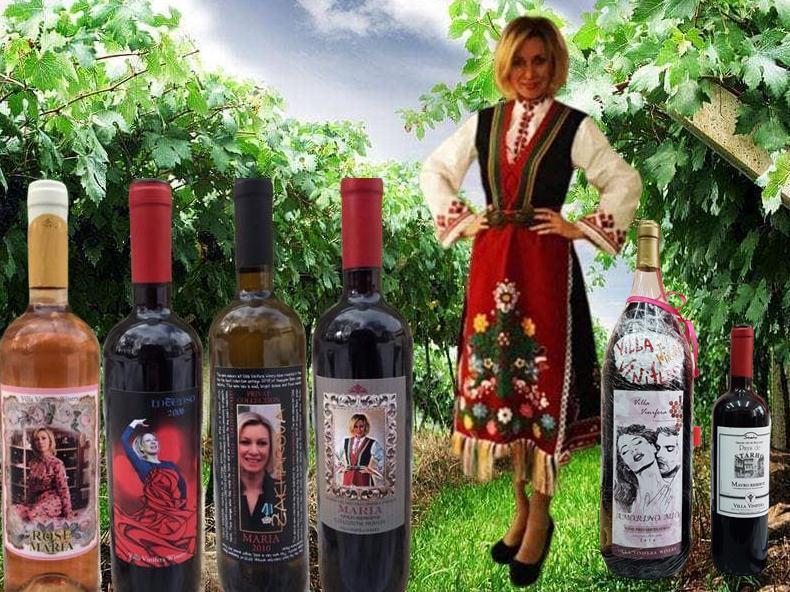 Избраха Мария Захарова за царица на виното в България